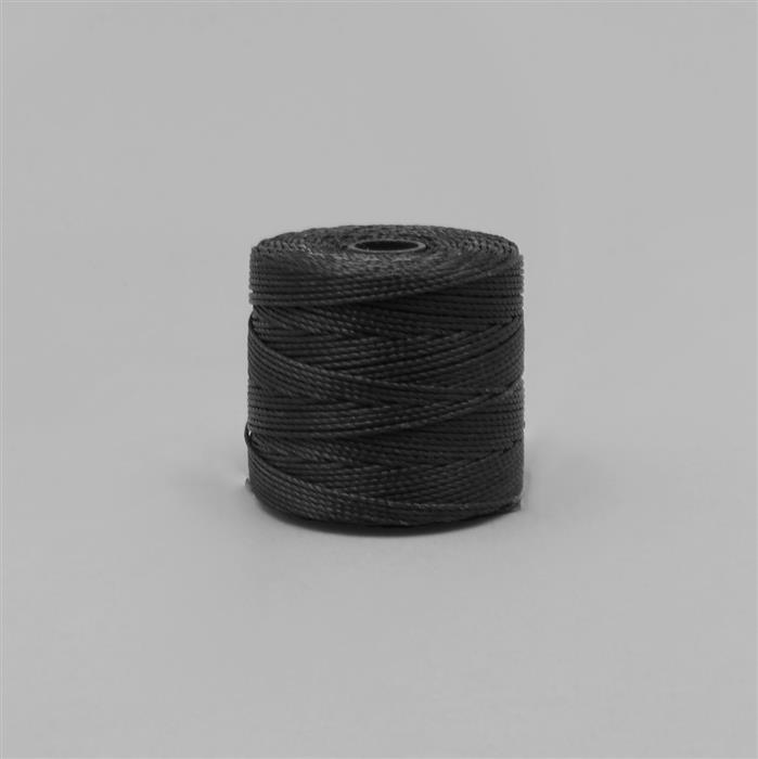 70m Black Nylon Cord Approx 0.4mm