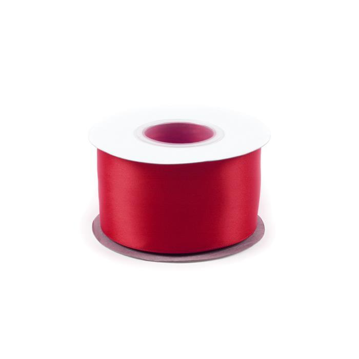 20M Scarlet Double Faced Satin Approx 50mm