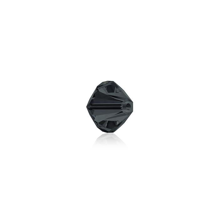 Swarovski Crystal Beads - Pack of 24 Bicone 5328 - 4mm Graphite