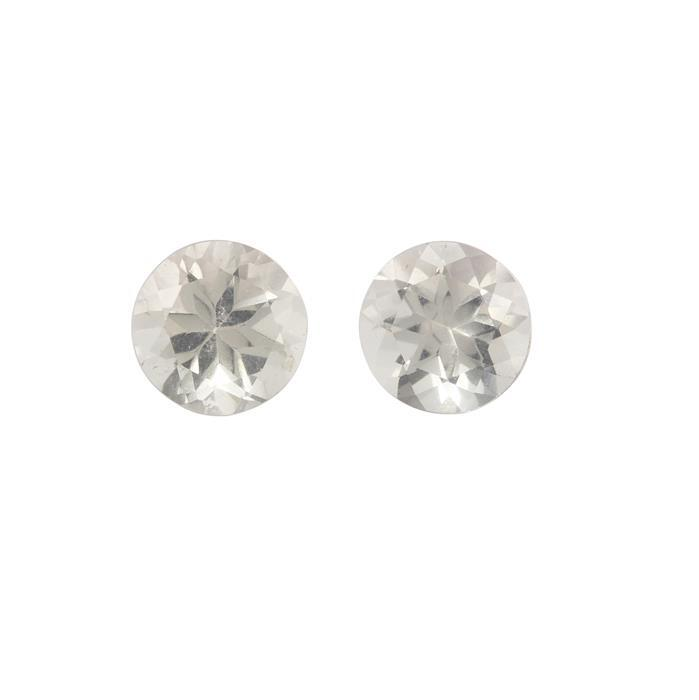 1.30cts Serenite Brilliant Round Approx 6.00x6.00mm 2 pack
