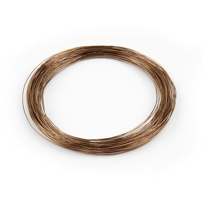 Antique Bronze Copper Wire - 0.5mm (12m)