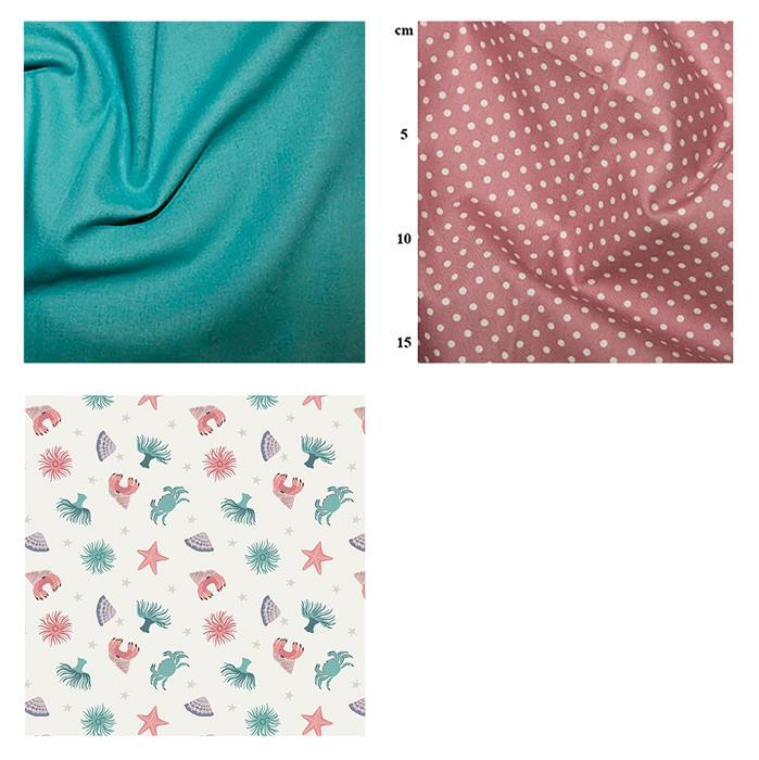 Sea Rock Pool Fabric Bundle (1.5m)