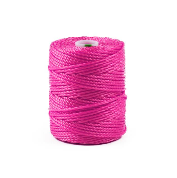 32m Hot Pink Nylon Cord Approx 0.9mm