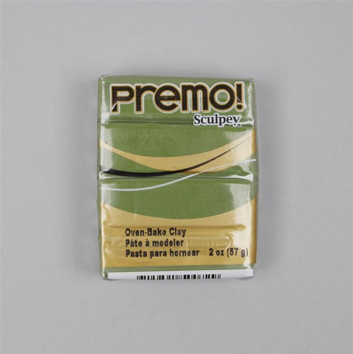 Premo! Sculpey Polymer Clay Spanish Olive 57g