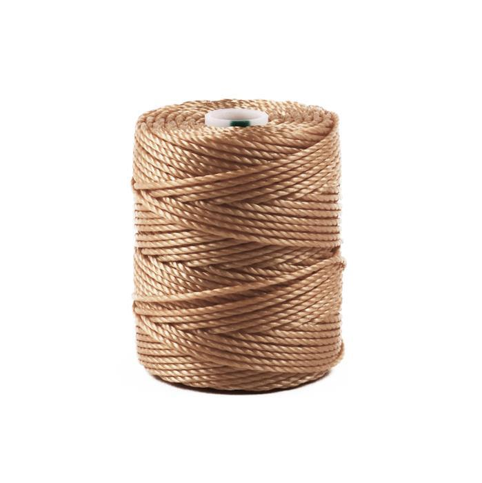 32m Light Brown Nylon Cord Approx 0.9mm
