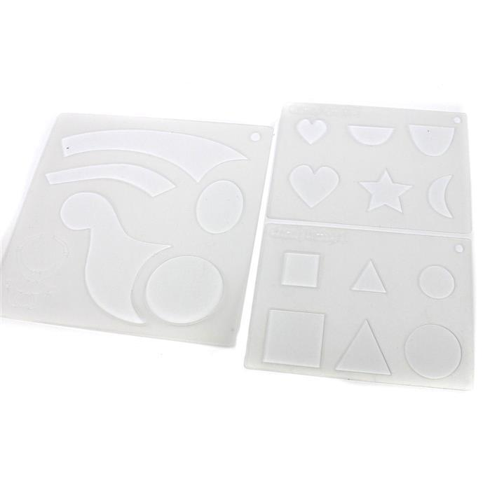 Template Stencil Set - 3 Pack