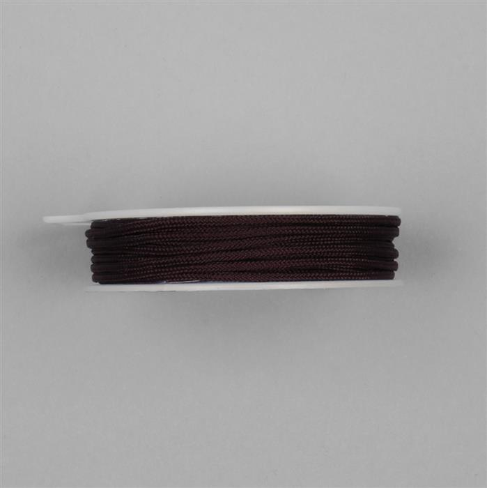 3m Dark Brown Knotting Cord Approx 2mm