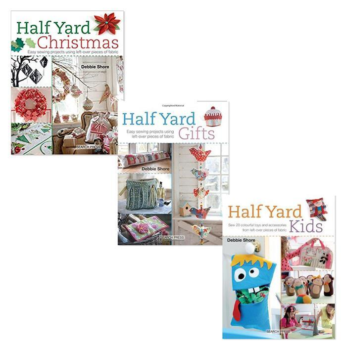 Half Yard Christmas, Kids and Gifts by Debbie Shore: 3 for 2 Offer, Save £9.99
