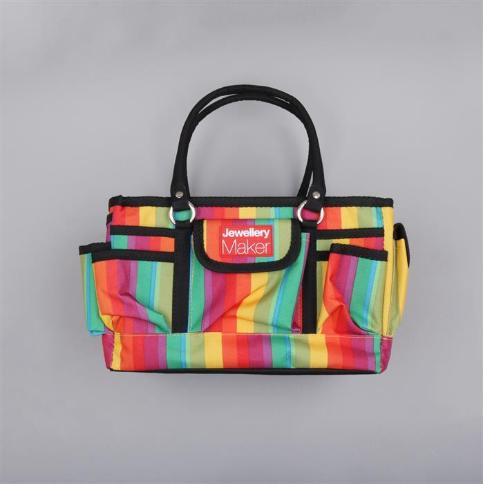 Craft Bag with Pockets and Dividers 34x26x19cm
