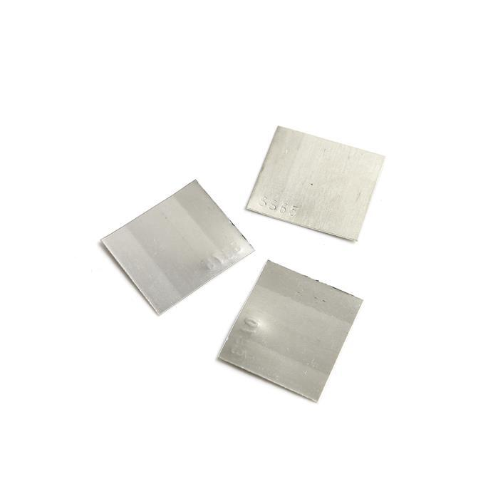 3pc Silver Solder Sheets