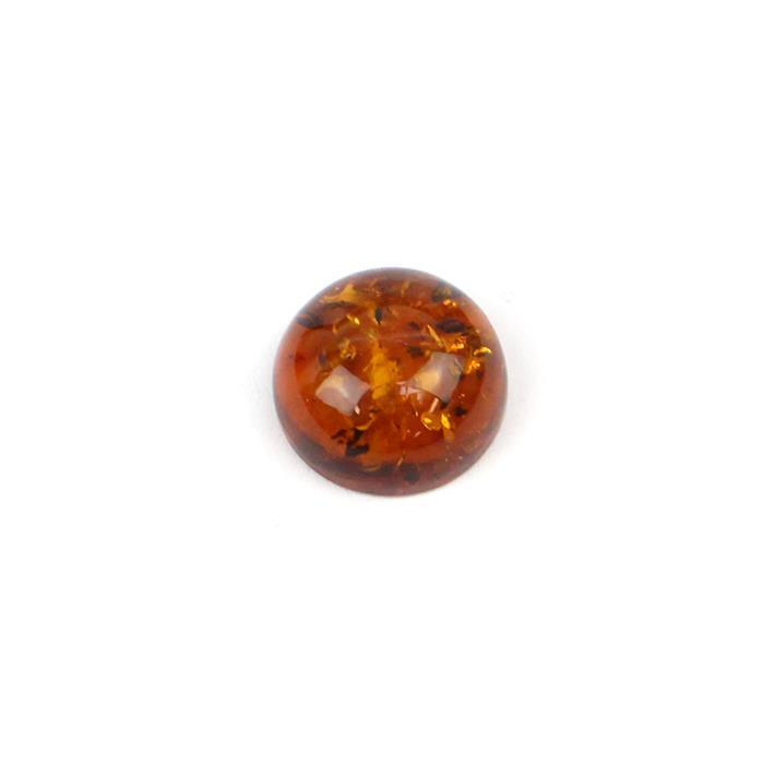 Baltic Cognac Amber Round Cabochon 15mm