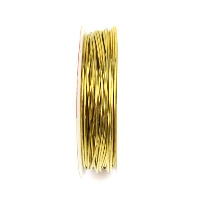10m Gold Plated Copper Wire 1mm
