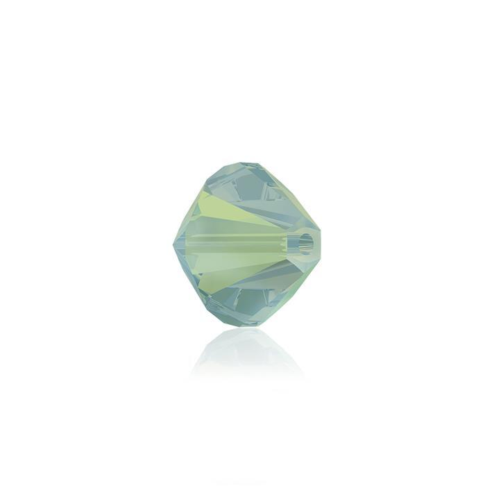 Swarovski Crystal Beads - Pack of 24 Bicones 5328 - 6mm Pacific Opal
