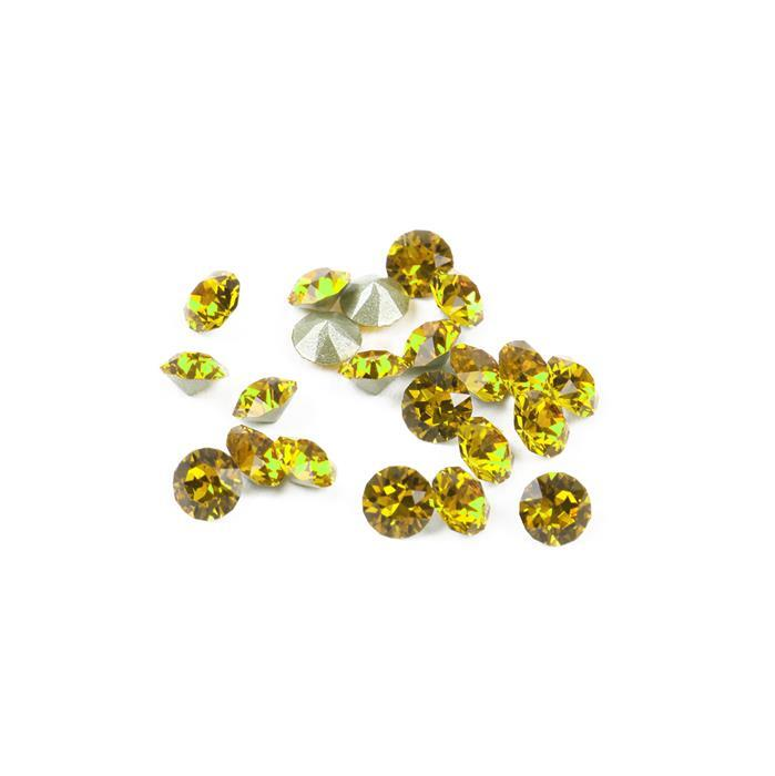 Light Topaz 1088 Swarovski Round Stones - 3mm, 24pk