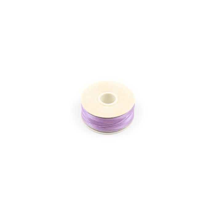 Light Purple Nymo Thread Size B, 72yards Bobbin