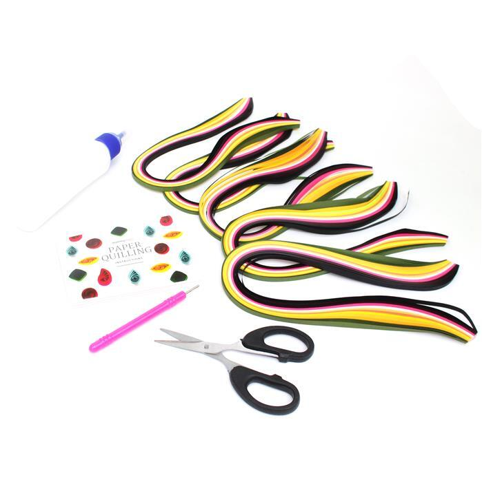 Paper Quilling Beginner Pack Inc. Instructions