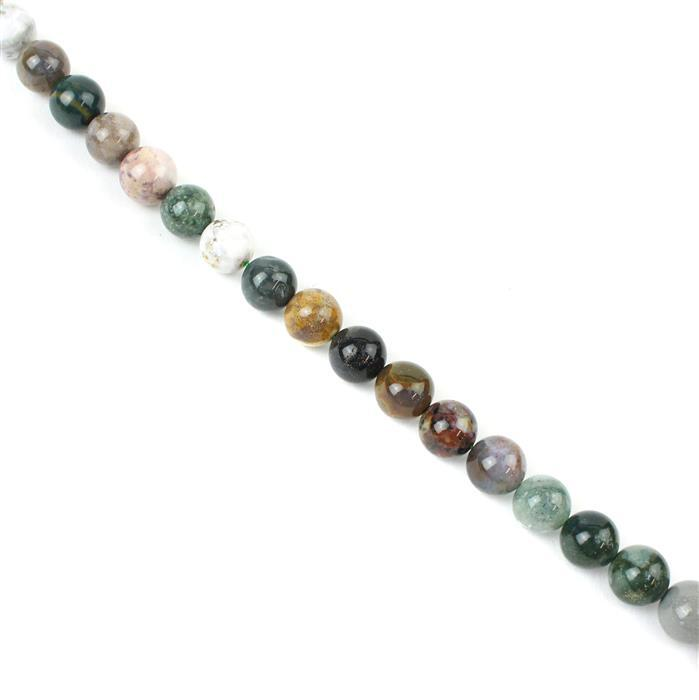 360cts Ocean Jasper Plain Rounds Approx 12mm, 38cm strand