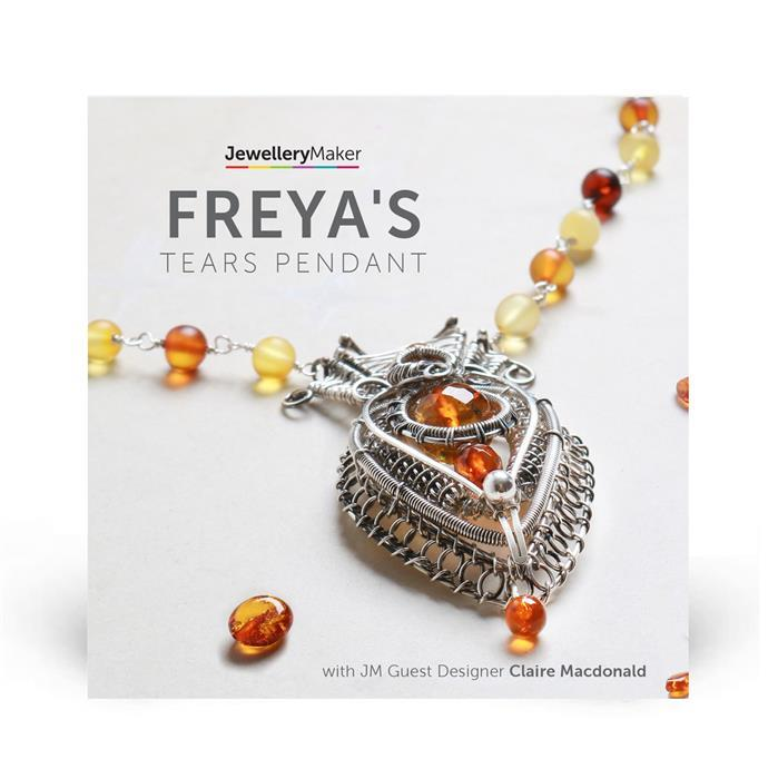 Freya's Tears Pendant with Claire Macdonald