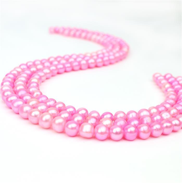 3 for 2 Pale Pink Pearls