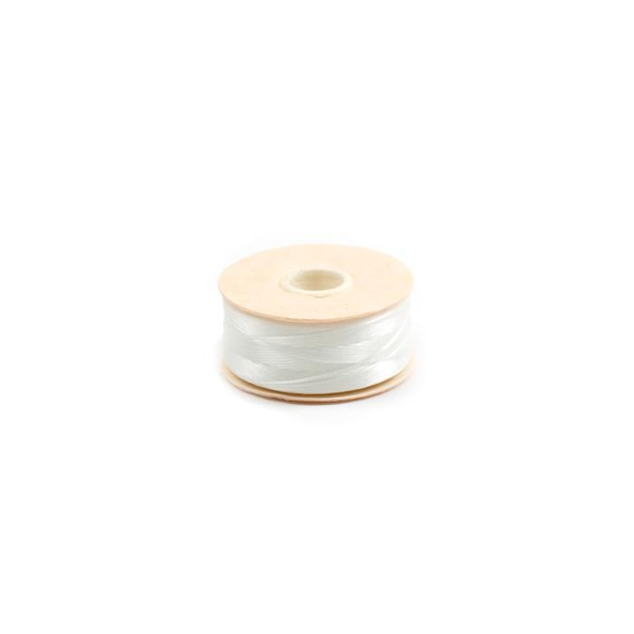 72 yards White Nymo Thread Size B