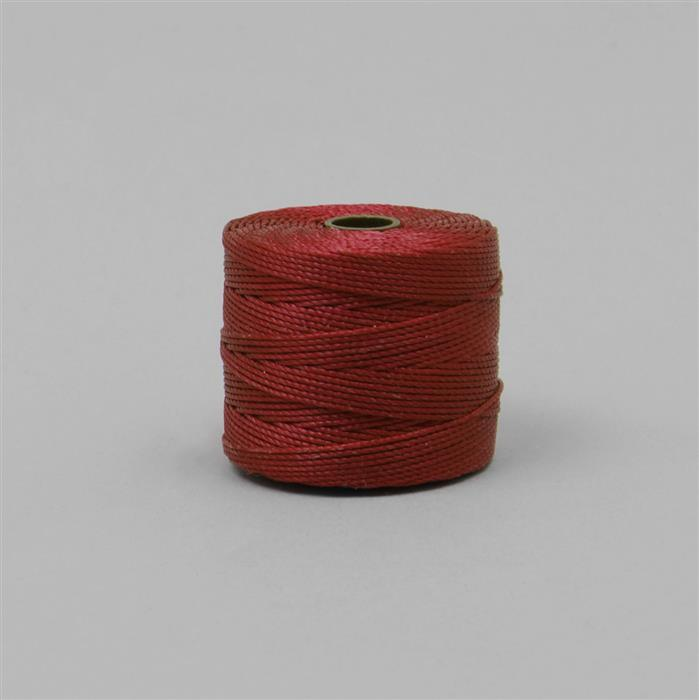 70m Shanghai Red Nylon Cord Approx 0.4mm