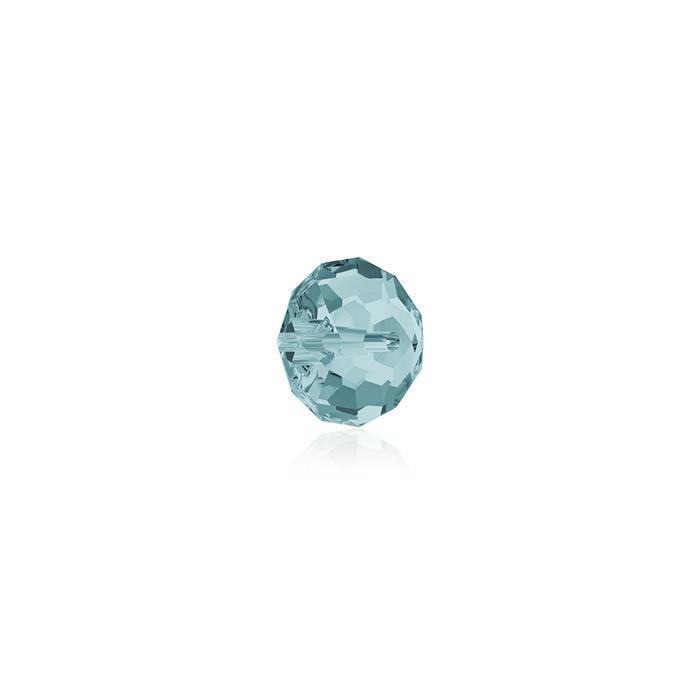 Swarovski Crystal Beads - Pack of 12 Briolette 5040 - 4mm Light Turquoise