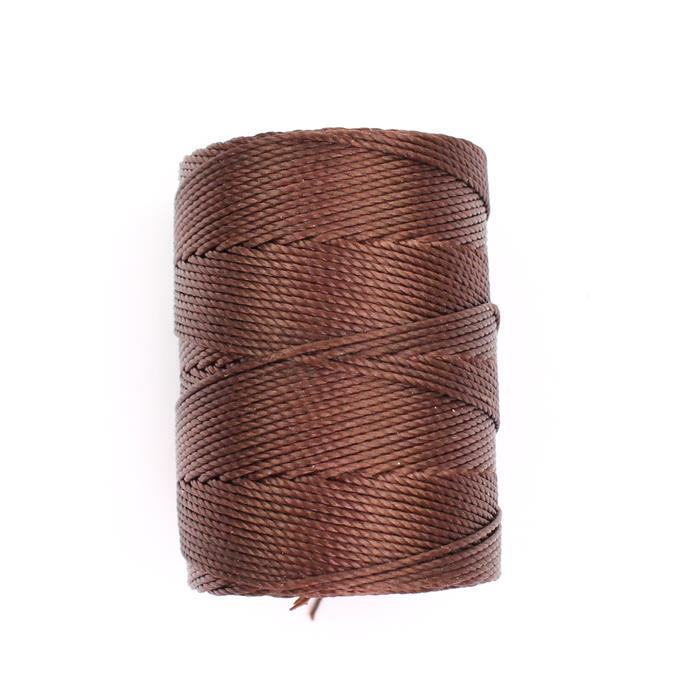 70m Brown Nylon Cord Approx 0.4mm