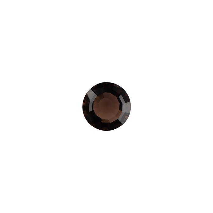 8cts Smokey Quartz Roman Cut Round 14mm.