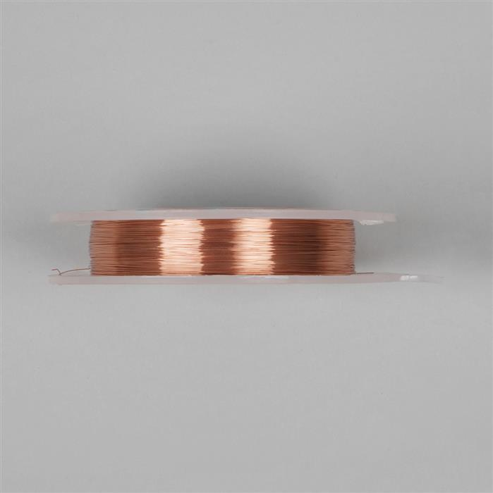 100m Copper Round Wire 0.25mm