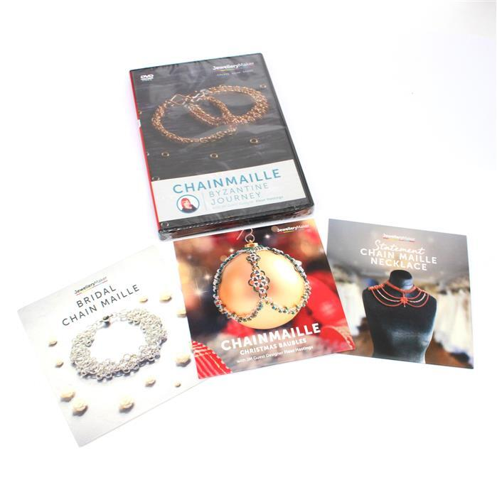 Chainmaille 4 x DVD Collection! Inc; Christmas, Statement, Byzantine Journey and Bridal