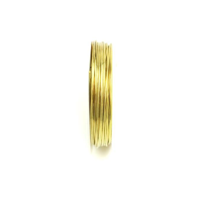 10m Gold Plated Copper Wire 0.6mm