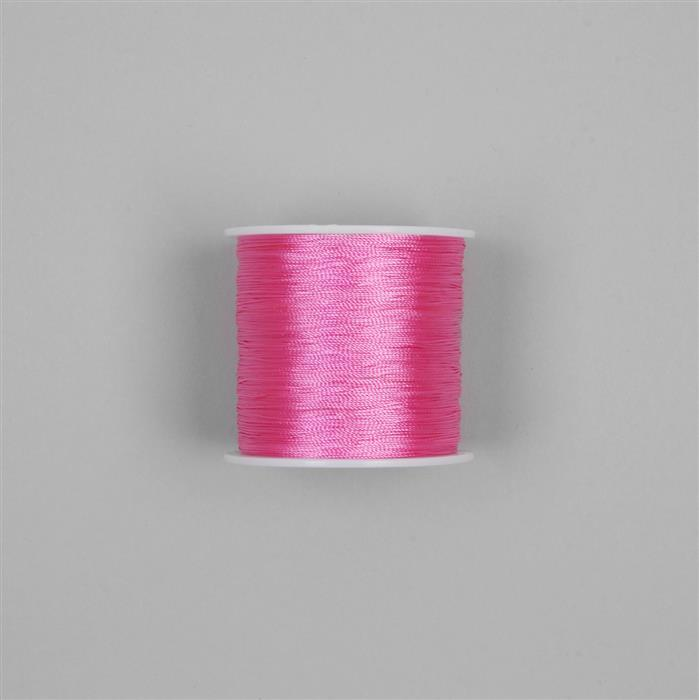 200m Neon Hot Pink Nylon Thread Approx 0.3mm