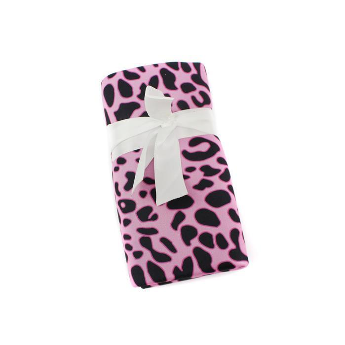 Beadalon 4 Tool Pouch - Pink Cheeta Pattern 22x42mm