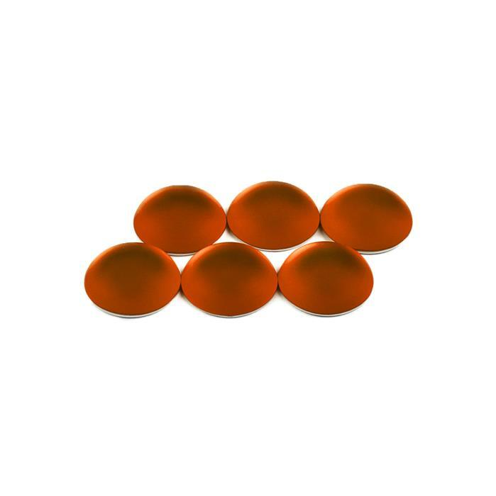 Copper Luna Round Cabochons Approx 14mm (6pcs)