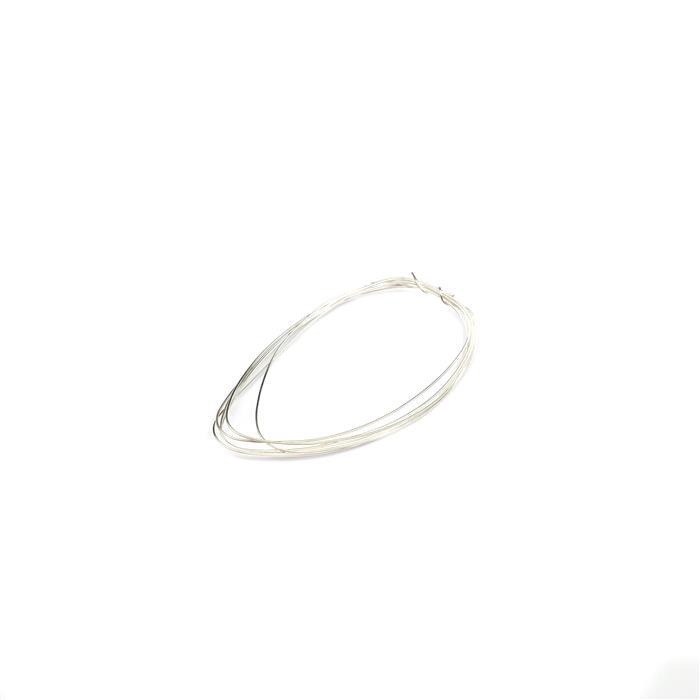 1m 925 Sterling Silver Wire - 0.6mm