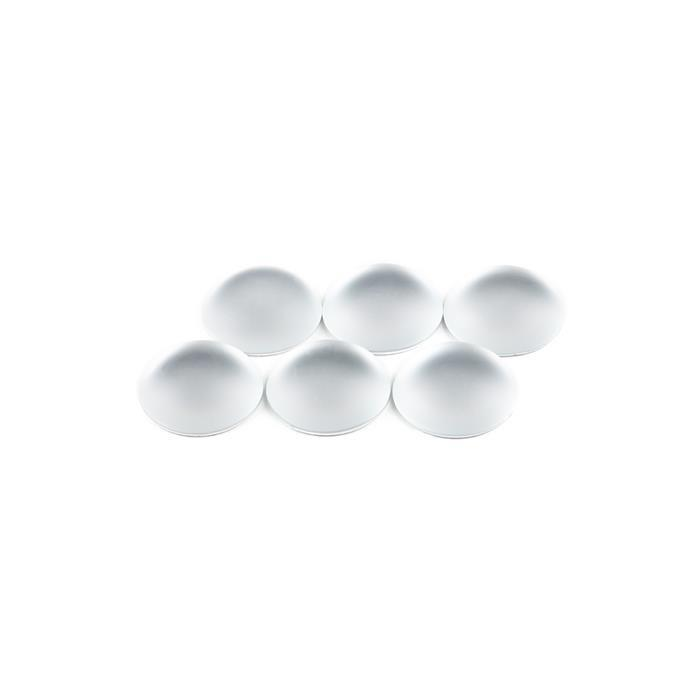 Pearl Luna Round Cabochons Approx 14mm (6pcs)