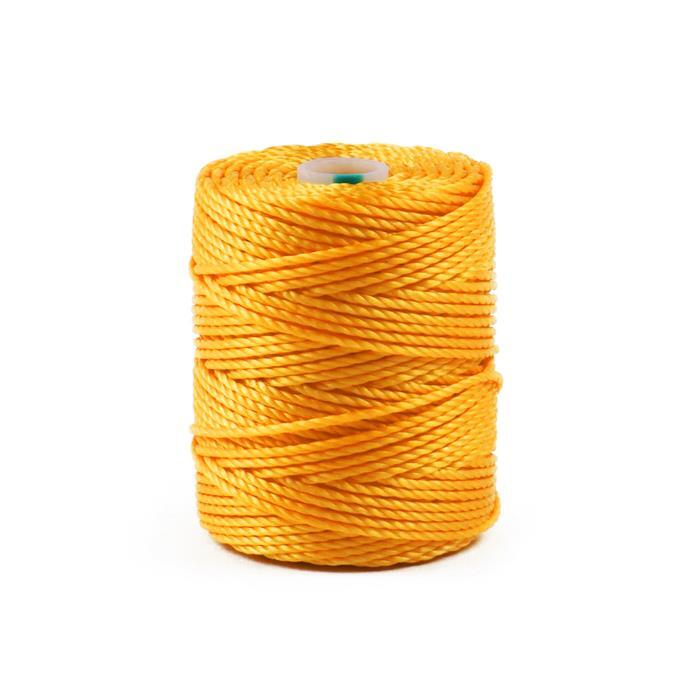 32m Golden Yellow Nylon Cord Approx 0.9mm