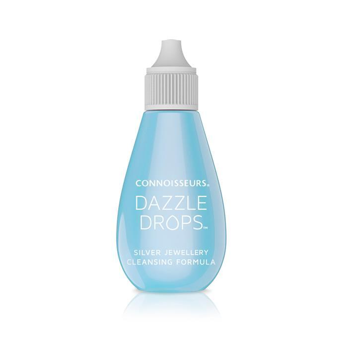 Connoisseurs Dazzle Drops Silver Jewellery Cleaner - 30ml