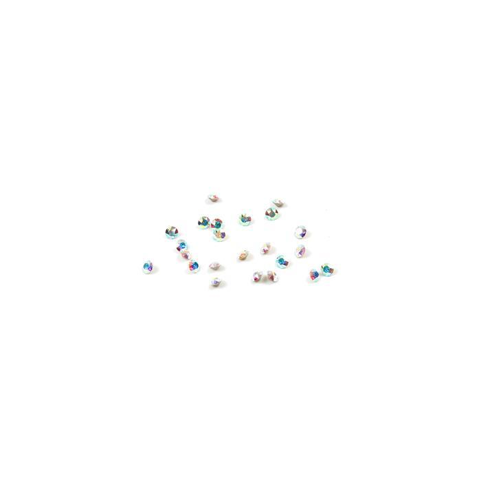 Swarovski Crystal Rounds, 2mm, Crystal AB, 24pk