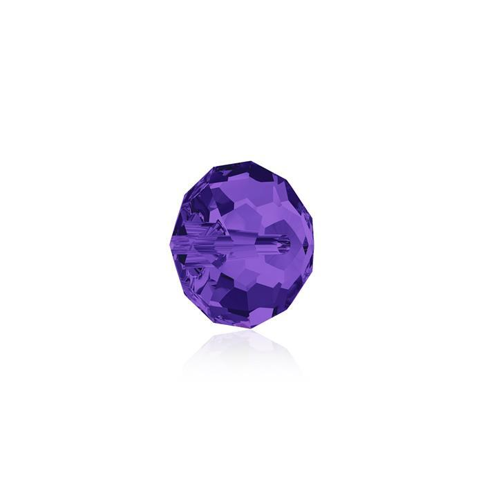 Swarovski Crystal Beads - Pack of 12 Briolette 5040 - 6mm Purple Velvet