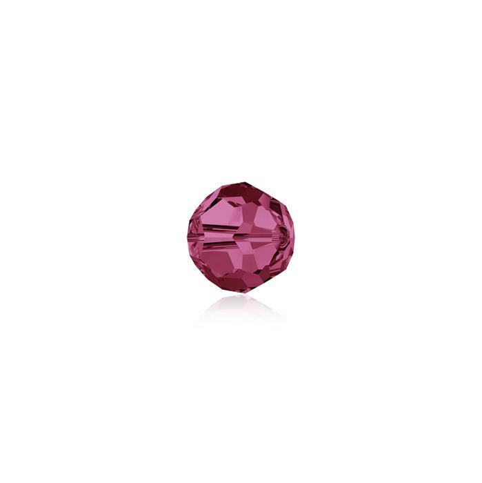 Swarovski Crystal Beads - Pack of 12 Round 5000 - 4mm Indian Pink
