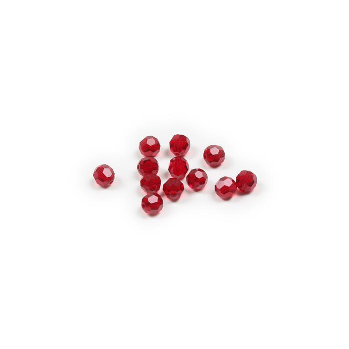 Swarovski Crystal Beads - Pack of 12 Round 5000 - 6mm Siam
