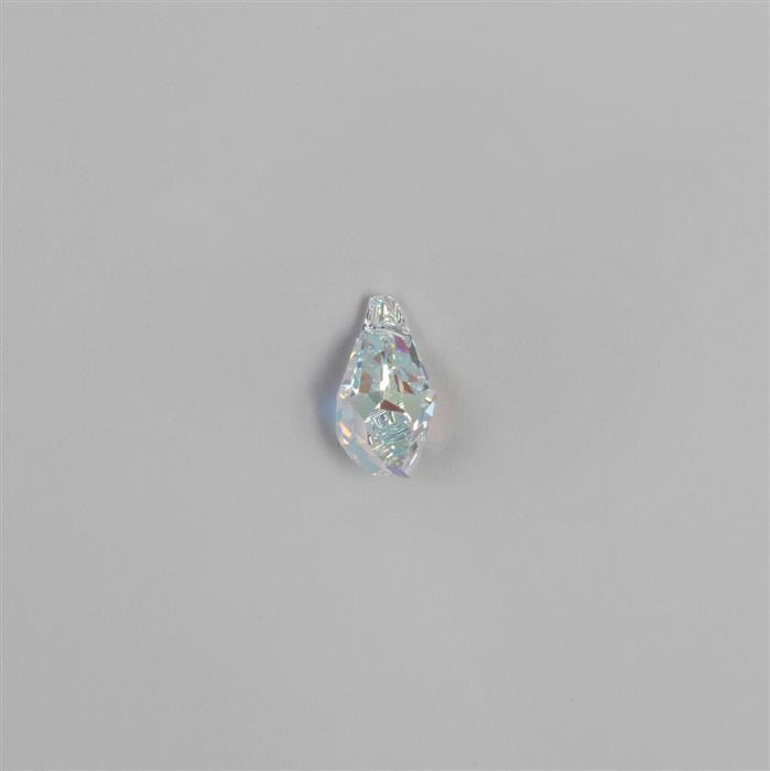 Swarovski Crystal AB Polygon Pendant 21x11mm - 1 pc.