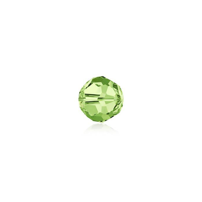 Swarovski Crystal Beads - Pack of 12 Round 5000 - 4mm Peridot