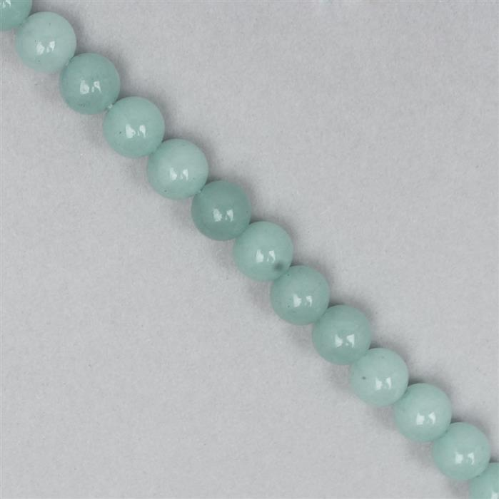 160cts Light Blue Quartzite Round Approx 8mm
