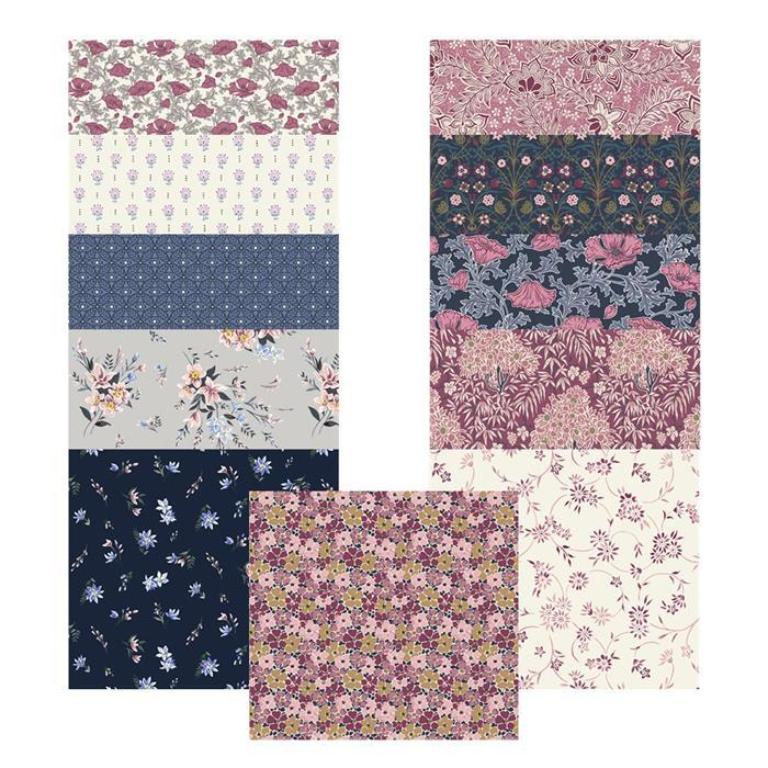 Liberty Winterbourne House Range in Pink Mega Bundle (5.5m) with 0.5m FREE