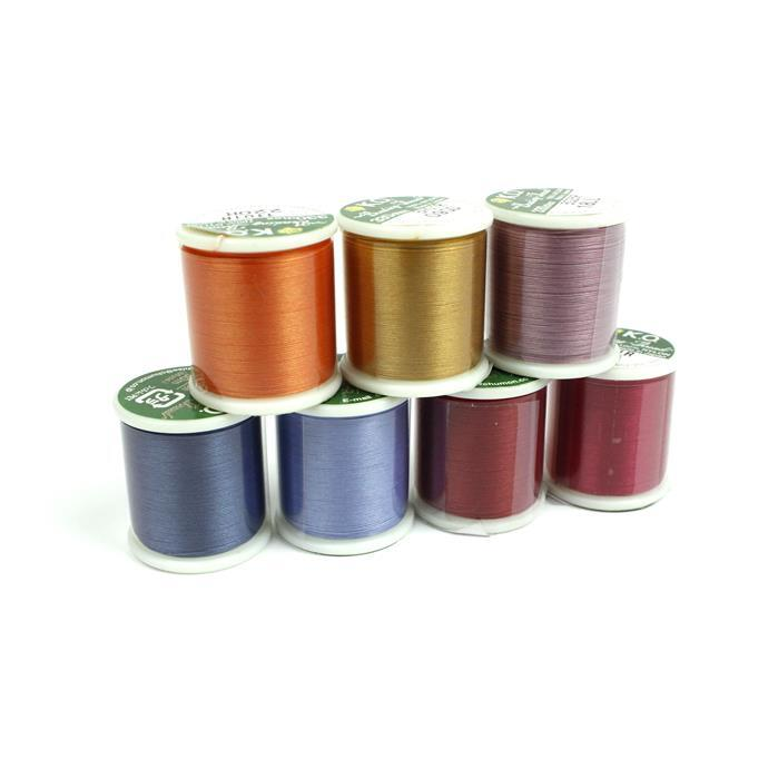 300m KO Beading Thread Bundle! Red, Gold, Lilax, Denim, Light Blue, Orange and Scarlet