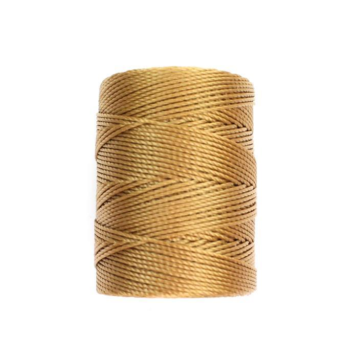 70m Dark Tan Nylon Cord Approx 0.4mm