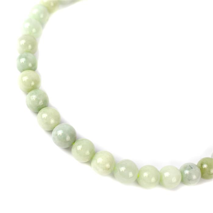 310cts Multi-Colour Jadeite Plain Rounds Approx 10mm, 38cm strand