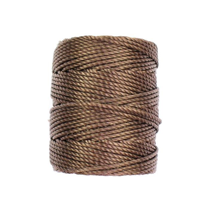 32m Med Brown Nylon Cord Approx 0.9mm